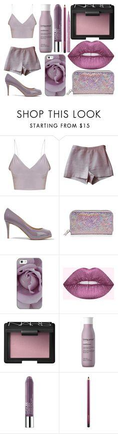 """Sans titre #6032"" by crazymoustik ❤ liked on Polyvore featuring American Apparel, Giuseppe Zanotti, Kenzo, Casetify, NARS Cosmetics, Living Proof, Clinique and Too Faced Cosmetics"
