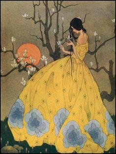 Marjorie Miller — Spring's Promise — circa 1925.