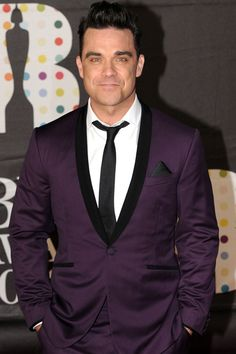 Robbie Williams at the BRIT Awards 2013 <3