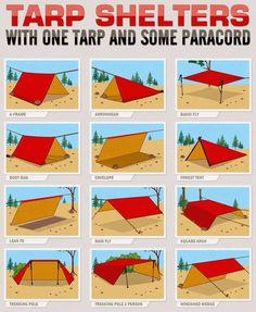 Tarp Configurations