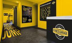 Complete Guide to Fitness(GYM) Branding and Marketing Home Gym Garage, Gym Room At Home, Gym Interior, Office Interior Design, Fitness Design, Gym Design, Parkour Gym, Fitness Park, Gym Center