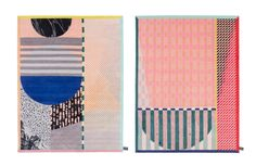 Colorful Patterned Rugs by Alex Proba for cc-tapis