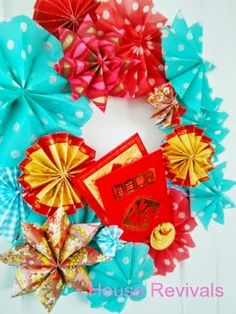House Revivals: Make a Chinese New Year Wreath!