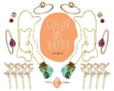 Color Me Happy. {color inspiration}