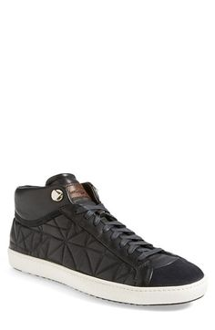 Santoni 'Apollo' Quilted Sneaker (Men) available at #Nordstrom