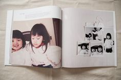 simple yet slightly whimsical with the 'stick on' photos feeling. perfect for kids photo album