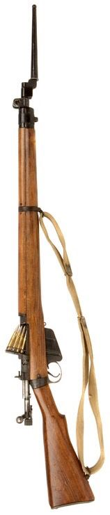 BRITISH WWII LEE ENFIELD NO4 MK1 .303 RIFLE with sling & bayonet