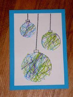 Nápady Na Vánoční Přáníčka - Yahoo Image Search Results Preschool Christmas Crafts, Christmas Card Crafts, Holiday Crafts For Kids, Christmas Activities, Christmas Projects, Christmas Holidays, Christmas Decorations, Toddler Christmas, Image Search