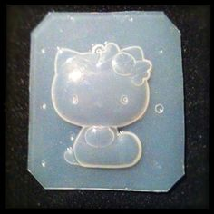 RESIN Kitty Ornament Flexible Plastic MOLD by KAPCREATIONS on Etsy, $5.50