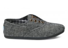 TOMS the most comfortable and awesome shoes, oh and every purchase means a child in need also gets shoes