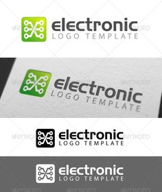Electronix Logo Template - Symbols Logo Templates