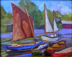 Watch Me Paint: A few questions (and answers) about plein air painting in Maine