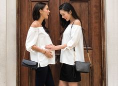 Mayarya shoulder-baring woman's top for maternity and beyond