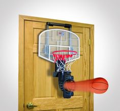 Shoot Again Indoor Basketball Hoop Set. the ultimate accesory to any guy's room