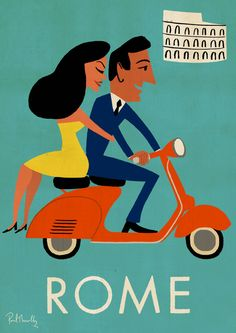 Travel Posters - Paul Thurlby