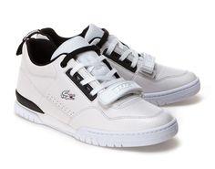 6d262d3f0d3428 Sneakers Missouri Lacoste en cuir bicolore