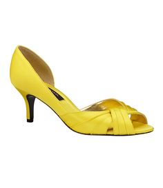 not mustard yellow but if i have to settle for a brighter yellow i like these a lot!