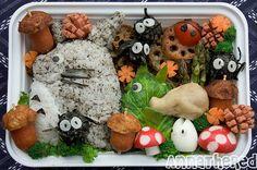 Bento #42: Totoro Parade Bento! by AnnaTheRed, via Flickr
