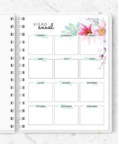 Master Planner - New Roses Planner 2018, Agenda Planner, Printable Planner, Planner Stickers, Printables, Desert Dream, Desert Rose, Brainstorm, Planner Diario