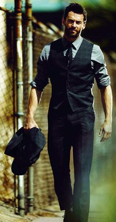 Hugh Jackman. This celebrities board on Pinterest is bad for me.