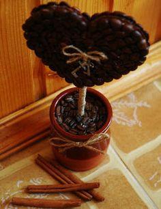 Como hacer una linda maceta con granos de café | Solountip.com