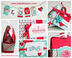 Julie's Stamping Spot -- Stampin' Up! Project Ideas by Julie Davison: 5 Ways to Use the Tag Topper Punches