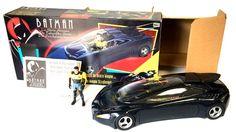 Kenner Batman: The Animated Series – Bruce Wayne Street Jet - Batman, Batman: The Animated Series