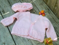 Baby Girl Pink Knit Sweater and Hat Set by BettysRoom on Etsy, $32.00 Pink Girl, Knitting, Trending Outfits, Hats, Handmade Gifts, Sweaters, Clothes, Vintage, Kid Craft Gifts