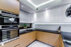 DOM RODZINNY GDAŃSK - Średnia kuchnia w kształcie litery u, styl nowoczesny - zdjęcie od STUDIO FORMA