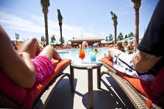 The Coconut Pool + Bar at Thunder Valley Casino Resort.