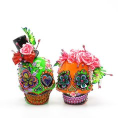 skulls for day of the dead