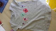 Name shirt with ballons