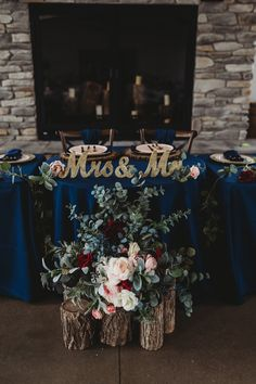 Venue: The Sycamore Winery Photography: Fearless Arrow Photography Head Table Decor, Wedding Decorations, Table Decorations, Sweetheart Table, Arrow, Burgundy, Weddings, Photography, Home Decor