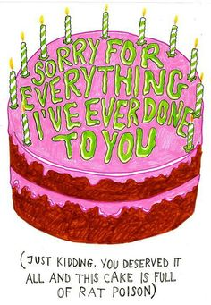 ~ This Is Your Cake Hoe