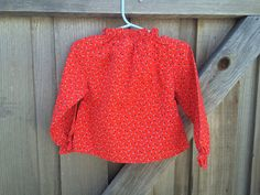 70s Floral Shirt 2/3T by lishyloo on Etsy