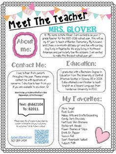 Use these forms at Open House so your students and parents can get to know you. Also included in this bundle are two get to know your student pages. Take your pick depending on if you teach older or younger grades and keep students busy while parents are asking questions and filling out paperwork in your classroom.Included in this packet-Sample Page-Editable Meet the Teacher Page-2 Meet the Student Pages-1 Blank Stationary-Instructions for use description of fonts used. :) ENJOY!