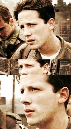 Band of Brothers Why we fight  Joe Liebgott (Ross McCall)  http://wefewwehappyfewwebob.tumblr.com/