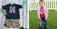 This ones just for the boys!!***Please see sizing below***This Tee is perfect for everyday wear ORstyle it up with a dress shirt to make your little guy look sharp!Makes great Photo Op tees, Birthday Present or just for everyday wear!Tee's come in red, navy or black, short sleeve, 100% cotton high quality tees.Sizes include: 2 year, 4 year, 6 year, 8 year 10 year & 12 year*SIZES RUN SMALL!! PLEASE SEE MEASUREMENTS!!SIZING!! Please see measurement!! All brands of
