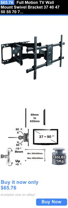 UNHO Full Motion TV Wall Mount for 22-50 inches TVs Tilt and Swivel  Articulating Arm | Tv walls, 50 inch tvs and Tv wall mount