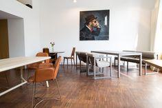 Designer Tische nach Maß, Designer Stühle aus Leder und Designer Stühle mit Stoffbezug! Massivholz Tische nach Maß von MBzwo.