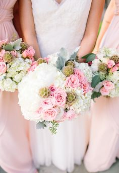 Pretty in Pink. Florist-Passion Roots. Cherie Mariko Photography.