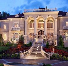 Monday: Dream Homes - Front View