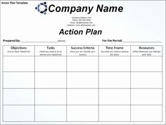 An action plan is created by defining current position of the business, defining objectives and then planning how to achieve these goals. Proper document is prepared containing different Memo Template, Action Plan Template, Lesson Plan Templates, Word Templates, Templates Free, Survey Template, Essay Template, Lesson Plans, Project Planning Template