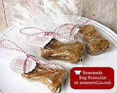 'A Casarella: Homemade Peanut Butter Dog Biscuits