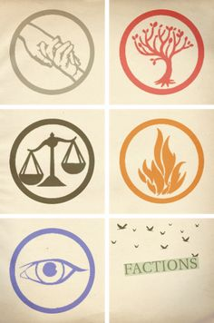 Divergent and Insurgent Factions~ which one would you be~ I would be either candor or amity...I think...