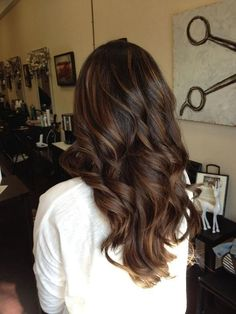 Chocolate brown hair color ideas