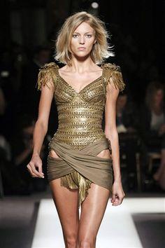 Balmain's military coup at Paris Fashion Week, spring 2010 - National international style | Examiner.com