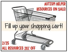 Get your cart ready!!! by theautismhelper.com