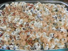 Grape Salad - good with toffee or butterfinger pieces too.