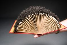 Edges created by artist Alisa Banks, part of the Virginia Commonwelath University Book Art Collection housed in the VCU Libraries' Special Collections and Archives at James Branch Cabell Library.